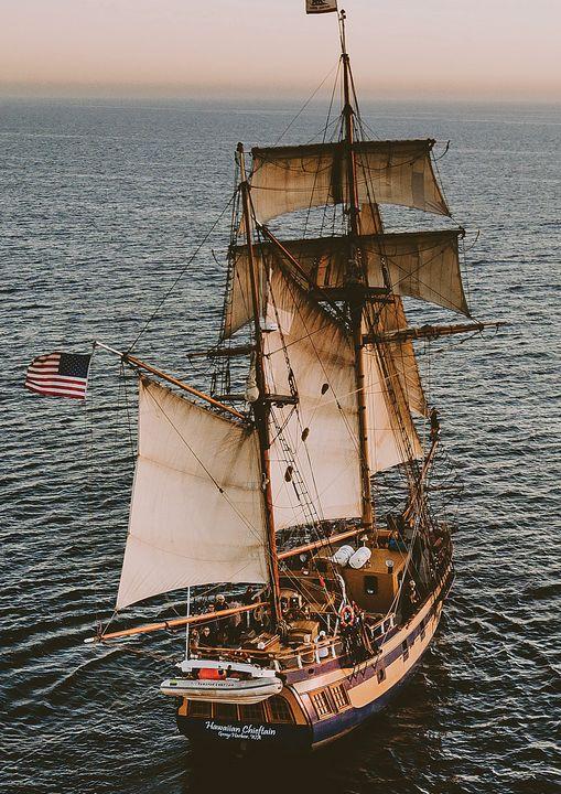 Tall Sailing Ship Fine Art Print - Friends Always Giftshop