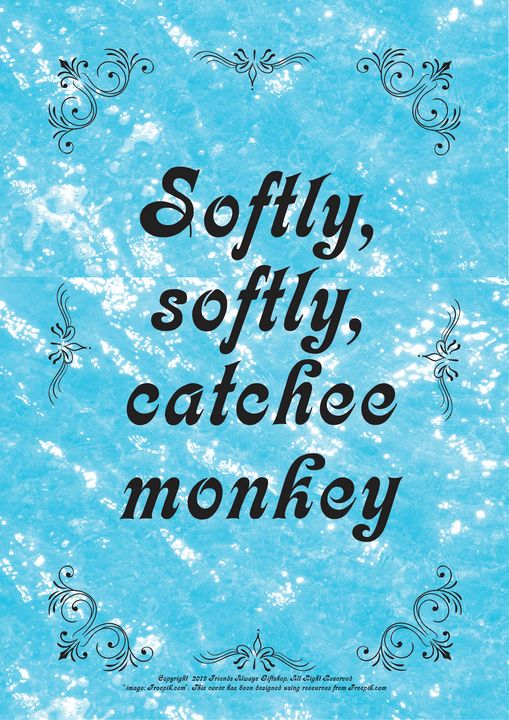 326 Softly, softly, catchee monkey - Friends Always Giftshop