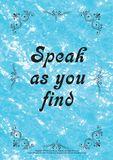 English Proverb