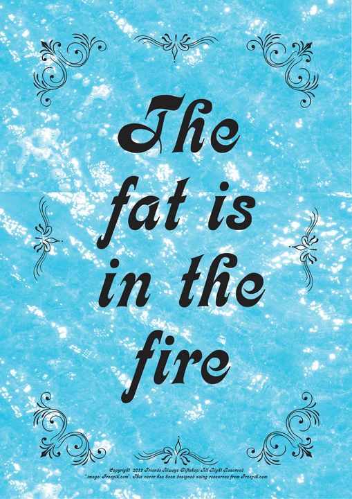 363 The fat is in the fire - Friends Always Giftshop