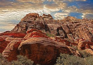 Rocky Cliffs Fine Art Print