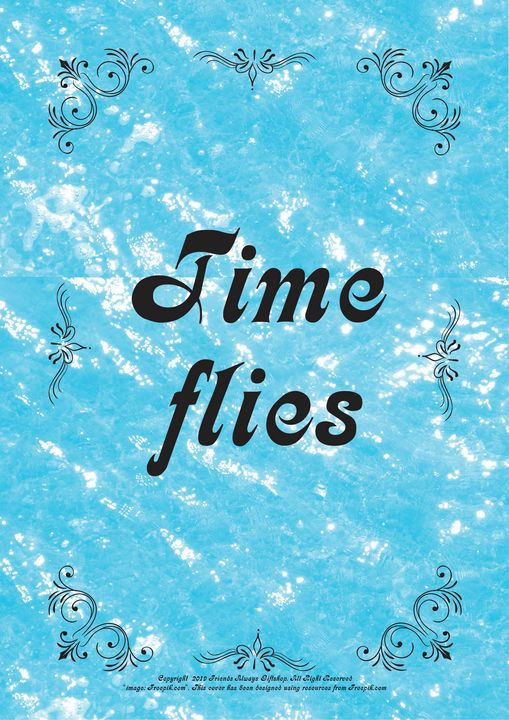 414 Time flies - Friends Always Giftshop