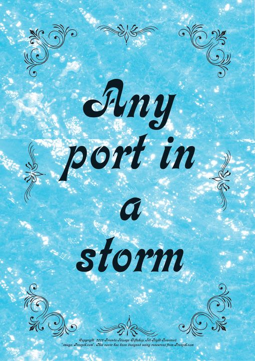 031 Any port in a storm - Friends Always Giftshop