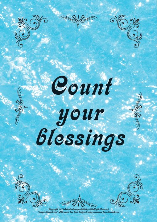 054B Count your blessings - Friends Always Giftshop