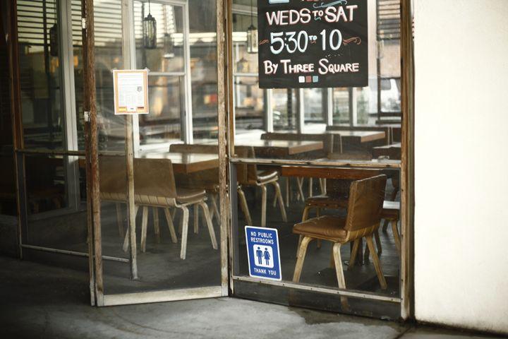 """""""No Public Restrooms"""" - Joshua Levi Anderson"""