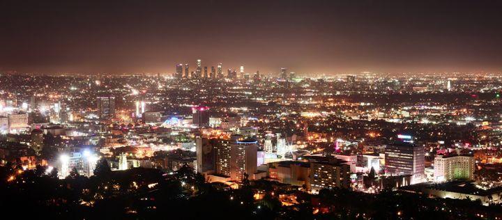 """""""LA Skyline"""" - Joshua Levi Anderson"""
