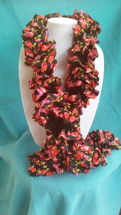 Floral sashay scarf - Janice Johnson
