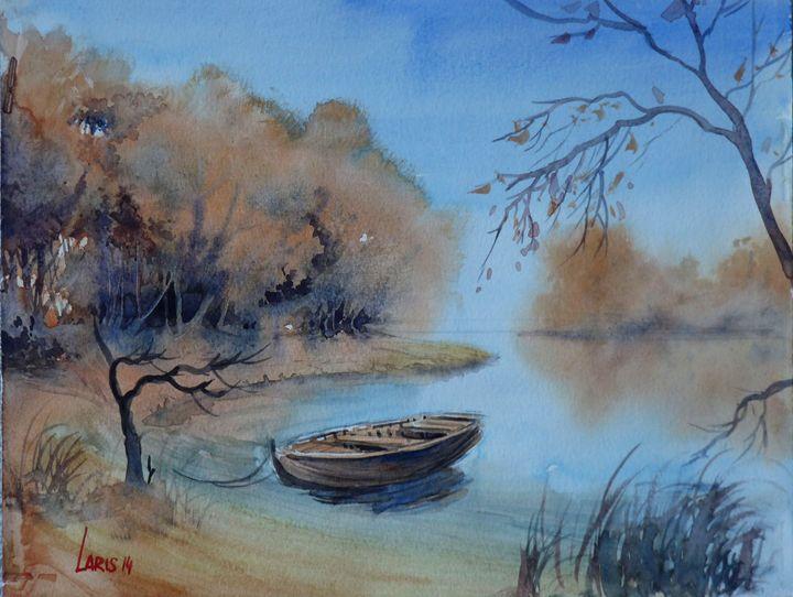 Autumn lake - Laris