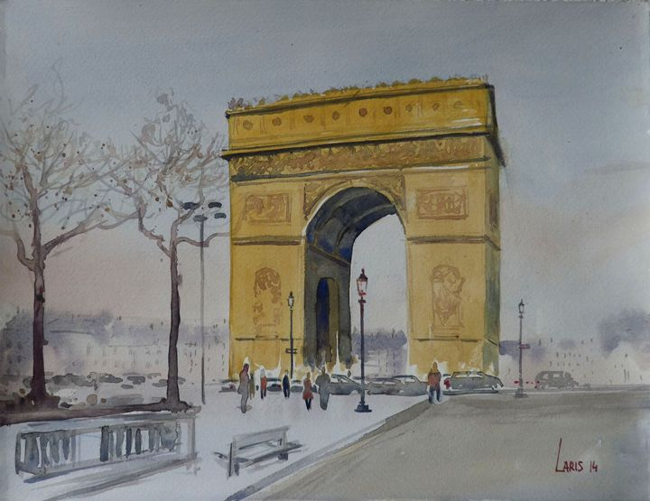 Arch of triumph, Paris - Laris