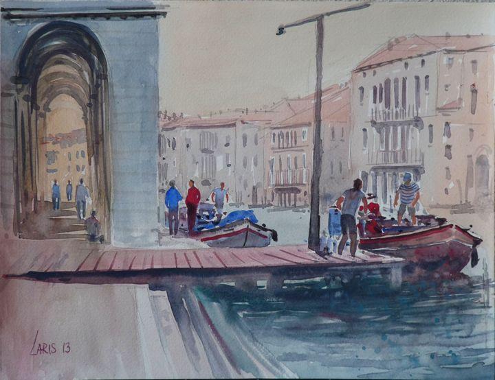 Venice market - Laris