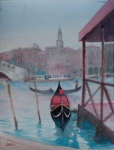 Gondola station, Venice