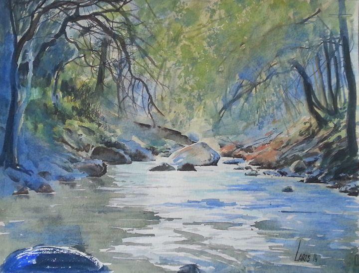 Forest brook - Laris