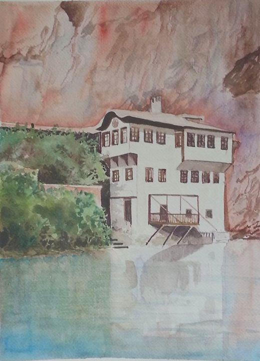 Tekija on Buna river - Laris