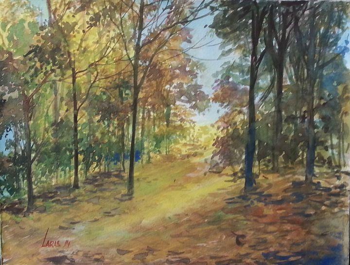 Sunlight in autumn - Laris