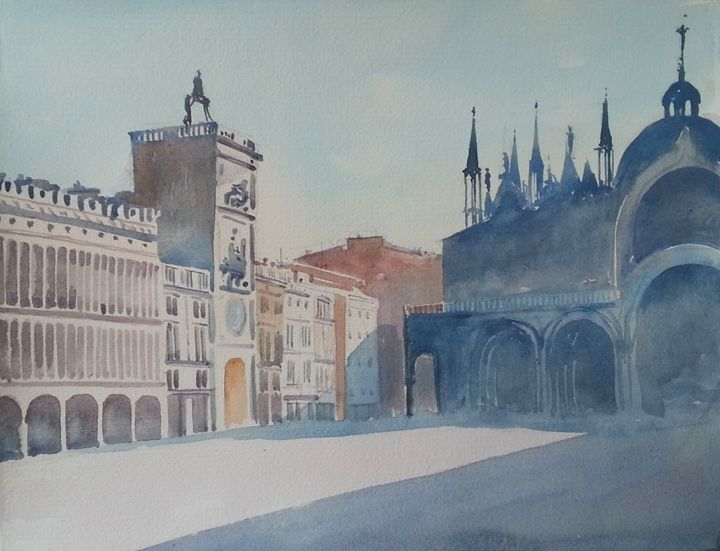 St.Marco square in the morning - Laris