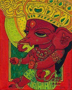 Ganesha - Avatar paintings