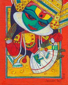 Kathakali - Avatar paintings