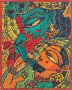 Radha Krishna - Avatar paintings