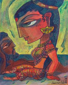 Lovers - Avatar painting