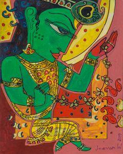 Krishna - Avatar painting