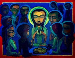 Last Supper - Avatar painting