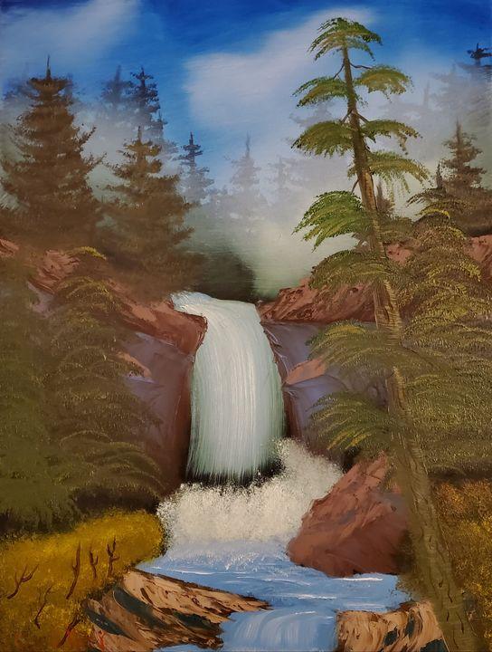 Secret Cascade - Scouller Art