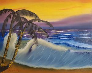 A Sunset Dip