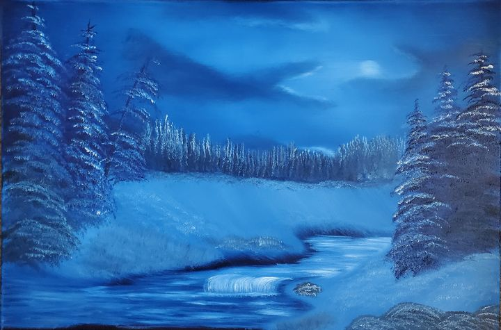 Secluded Night - Scouller Art