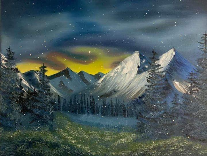 First Snow Fall - Scouller Art