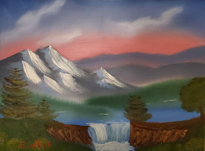 Lake Mist - Scouller Art
