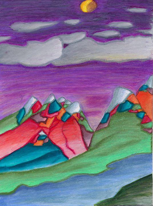 Dusktime in the Rockies - LEVAC