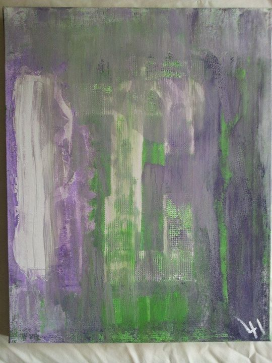 Untitled - Lucas' Abstract Paintings
