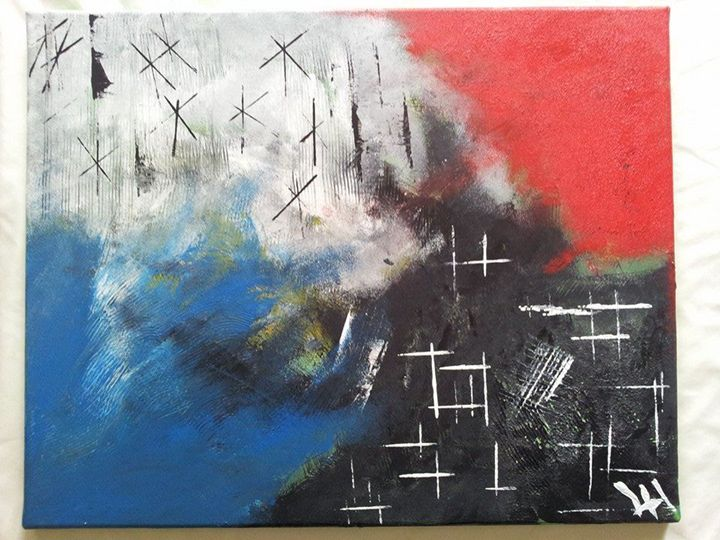 Fight Back - Lucas' Abstract Paintings