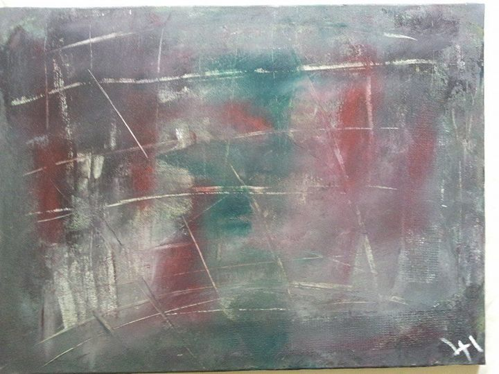 Holiday Feelings - Lucas' Abstract Paintings