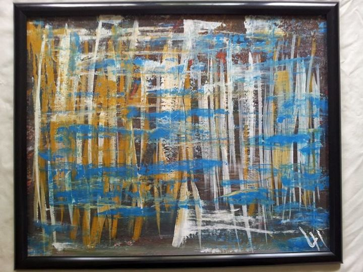 Scratch - Lucas' Abstract Paintings