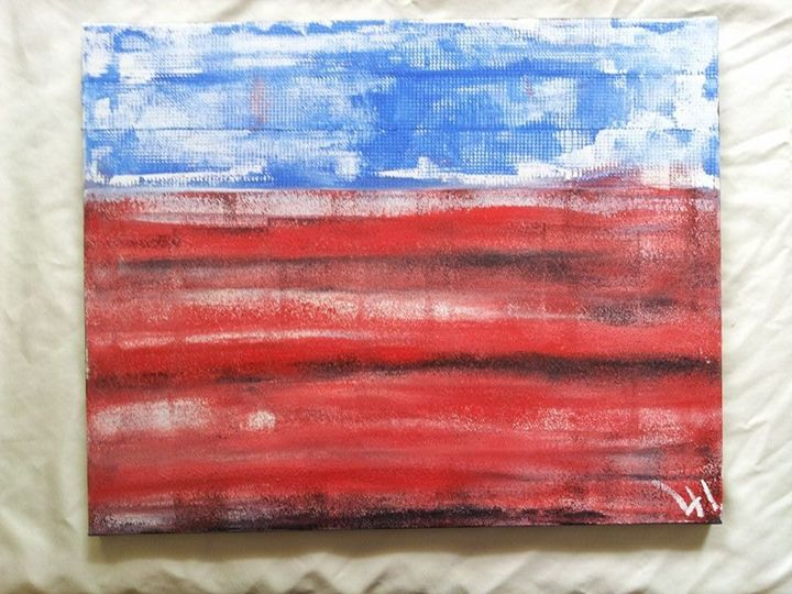 The True America - Lucas' Abstract Paintings