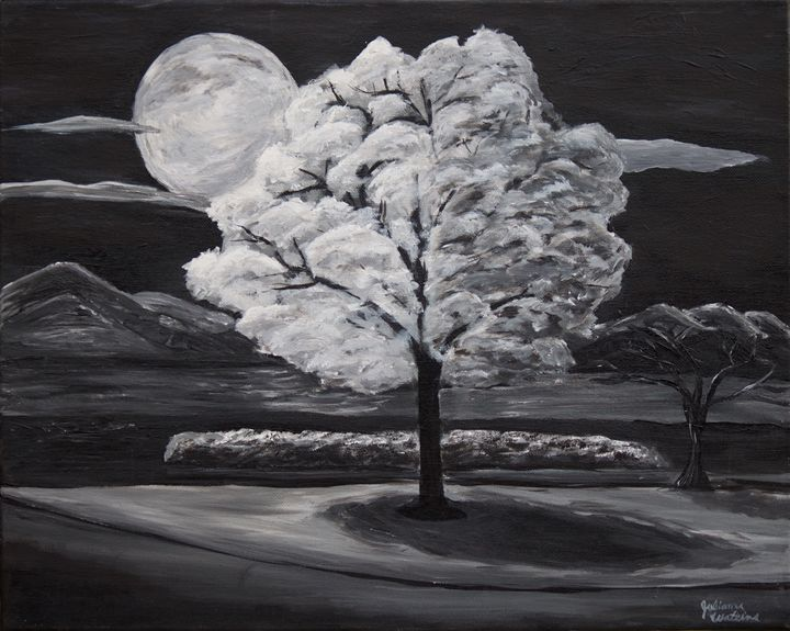 Moonlit Tree - Julianna Watkins