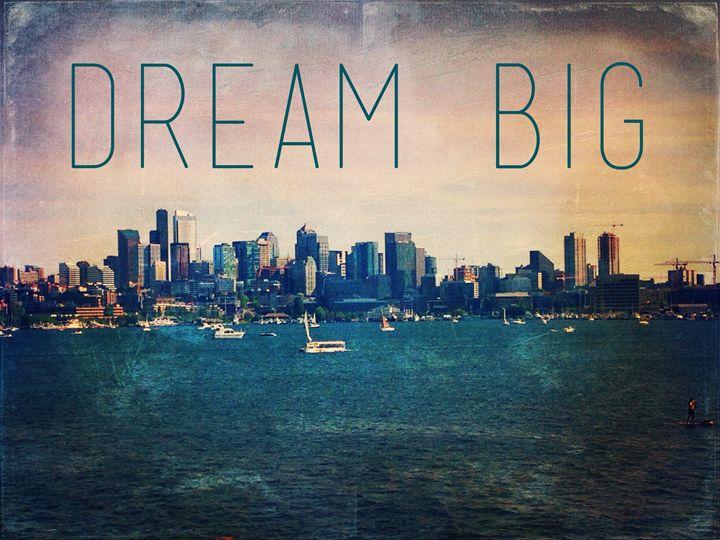 Seattle waterfront photo dream big - Julianna Watkins