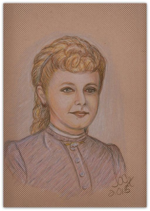 Victorian Teacher - Jacqueline O Aaron Clark