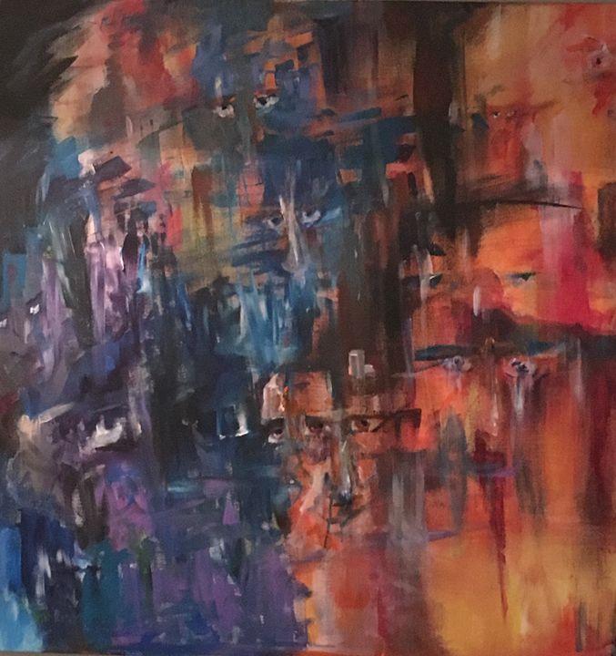 What we look at looks back - Michael Toporzycki