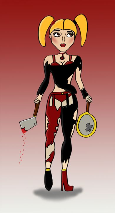 Harley Quinn - Elana's Art