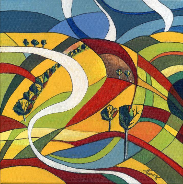 Farewell to summer - Aniko Hencz art