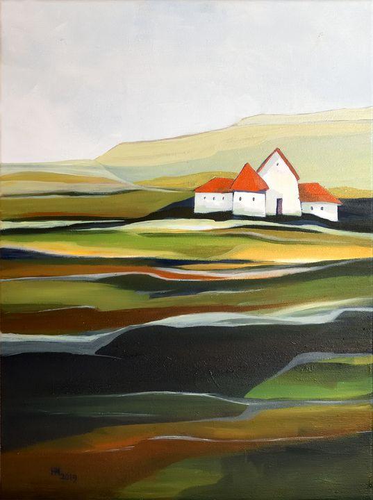 The quiet land - Aniko Hencz art