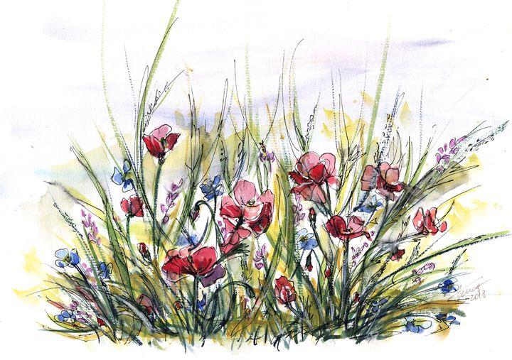 Longing for summer - Aniko Hencz art