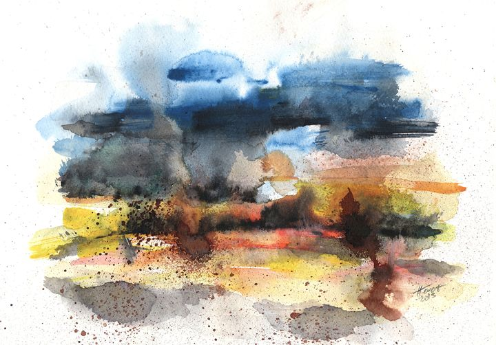After storm - Aniko Hencz art