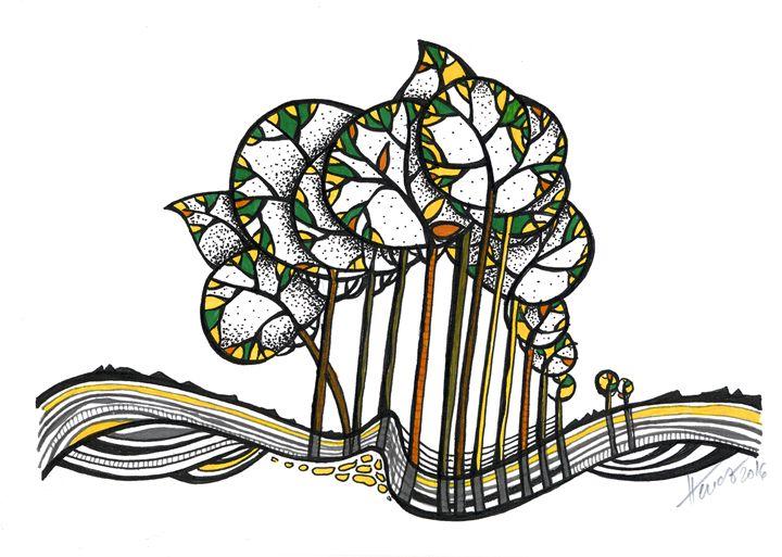 Treeland - Aniko Hencz art