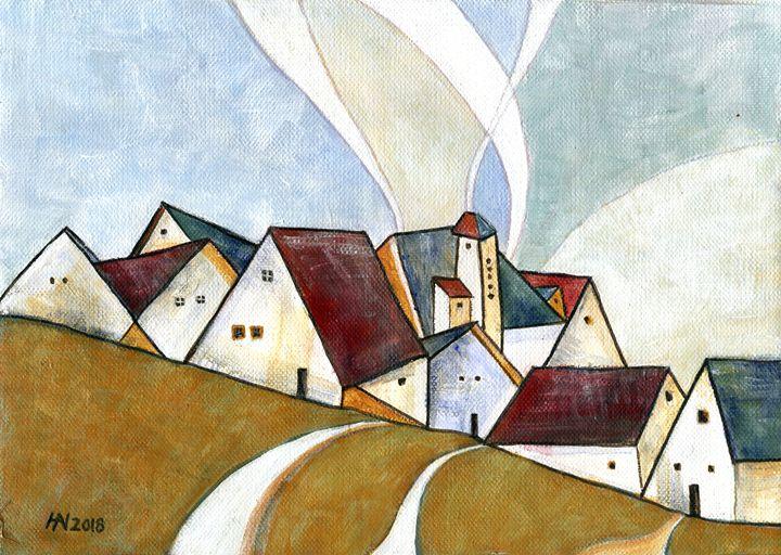 A cold day - Aniko Hencz art