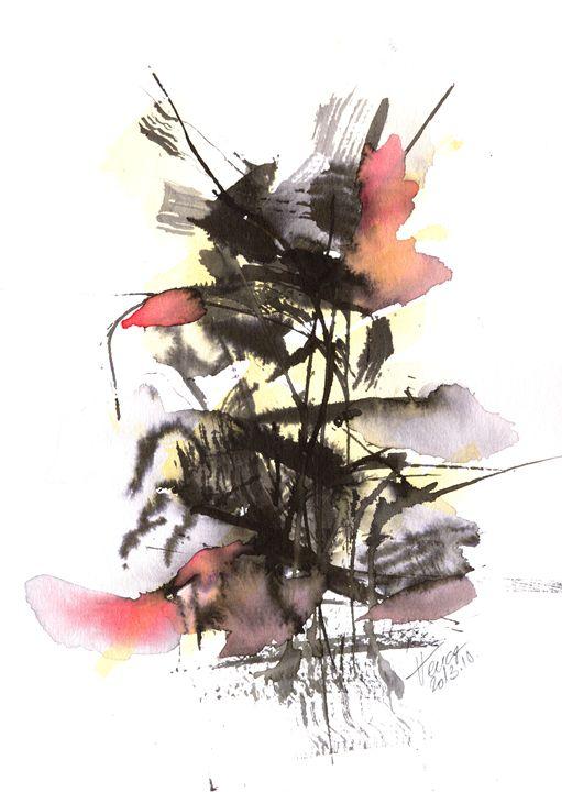 Autumn flowers - Aniko Hencz art