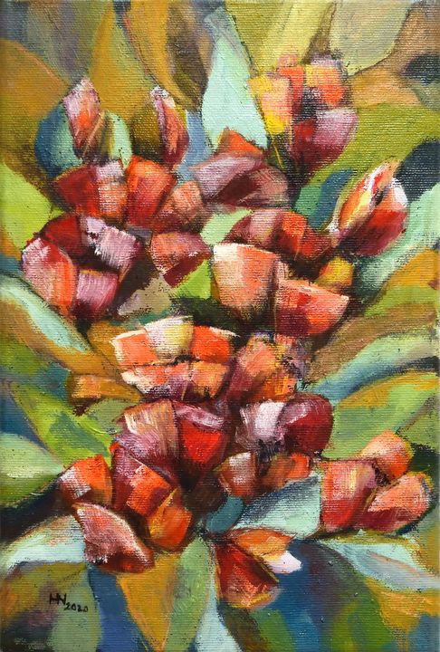 Blooming poppies - Aniko Hencz art