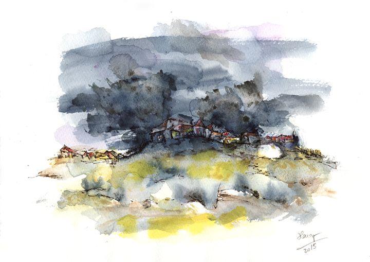 Stormy night - Aniko Hencz art